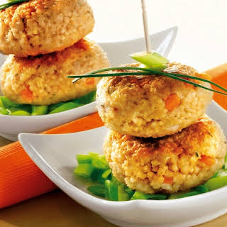 Millet Burgers With Vegetables.