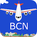 Barcelona El Prat Airport: Flight Information icon