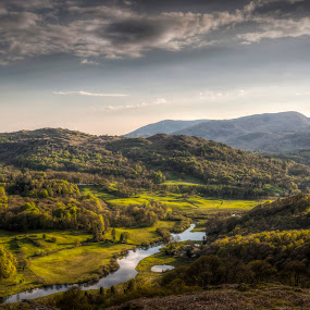 Skelwith Birdge by Alex Barrow - Landscapes Mountains & Hills ( loughrigg, uk, lake district, HDR, Landscapes,  )