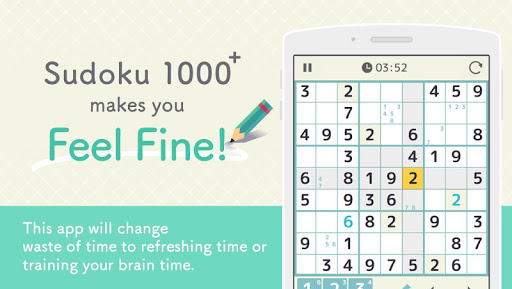 SUDOKU 1000+ Free Puzzle Games 1.0.1 Windows u7528 1