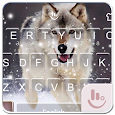 Wild Wolf FREE Keyboard Theme