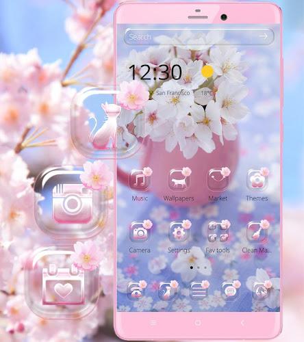Sakura Flower Theme Wallpaper On Google Play Reviews Stats