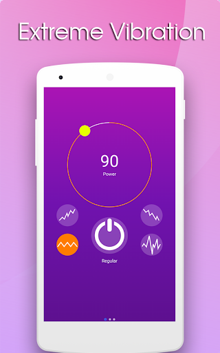 Screenshot for Massager Vibration App in United States Play Store