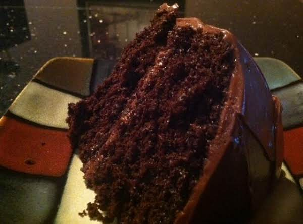 Decadent Chocolate Cake N Choco Btrcream Frostng Recipe