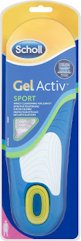 Scholl Active Sports Gel Insoles For Women