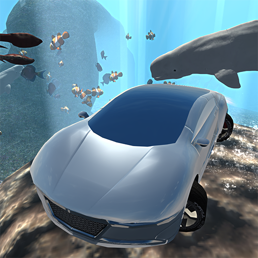 Flying Submarine Car Simulator 模擬 App LOGO-APP開箱王