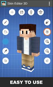 Skin Editor 3D for Minecraft 1.7 Mod + APK + Data UPDATED 1