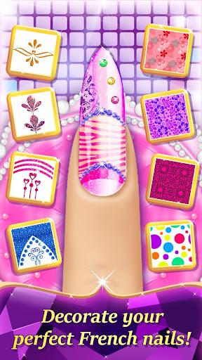 Code Triche Jeu de ongles salon: Manucure pour fille APK MOD screenshots 3