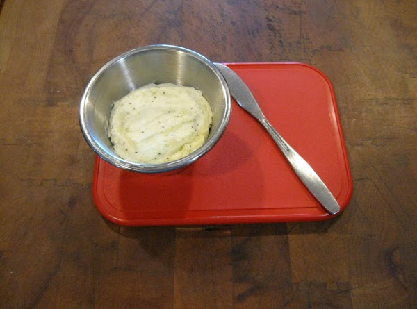 In a small bowl, mash together feta, 4 teaspoons olive oil, and lemon juice...