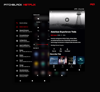 PitchBlack Substratum Theme For Oreo Pie 10 84.1 Patched APK For Android - 2 - images: Download APK free online downloader | Download24h.Net
