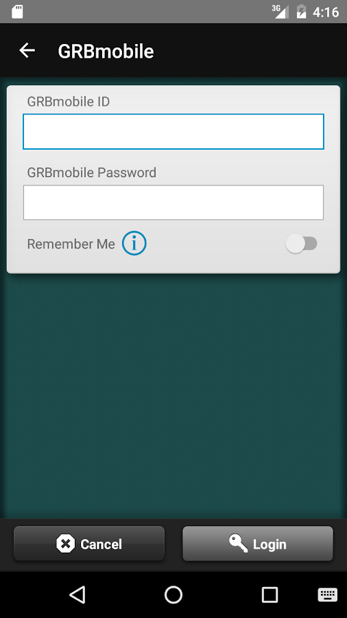 GRBmobile- screenshot
