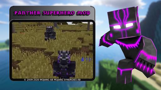 Panther Superhero Mod 7.6 screenshots 1