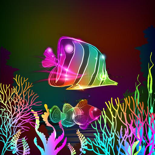Neon Fish Live Wallpaper