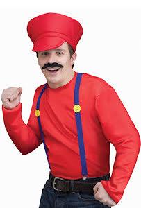 Video game guy set, röd