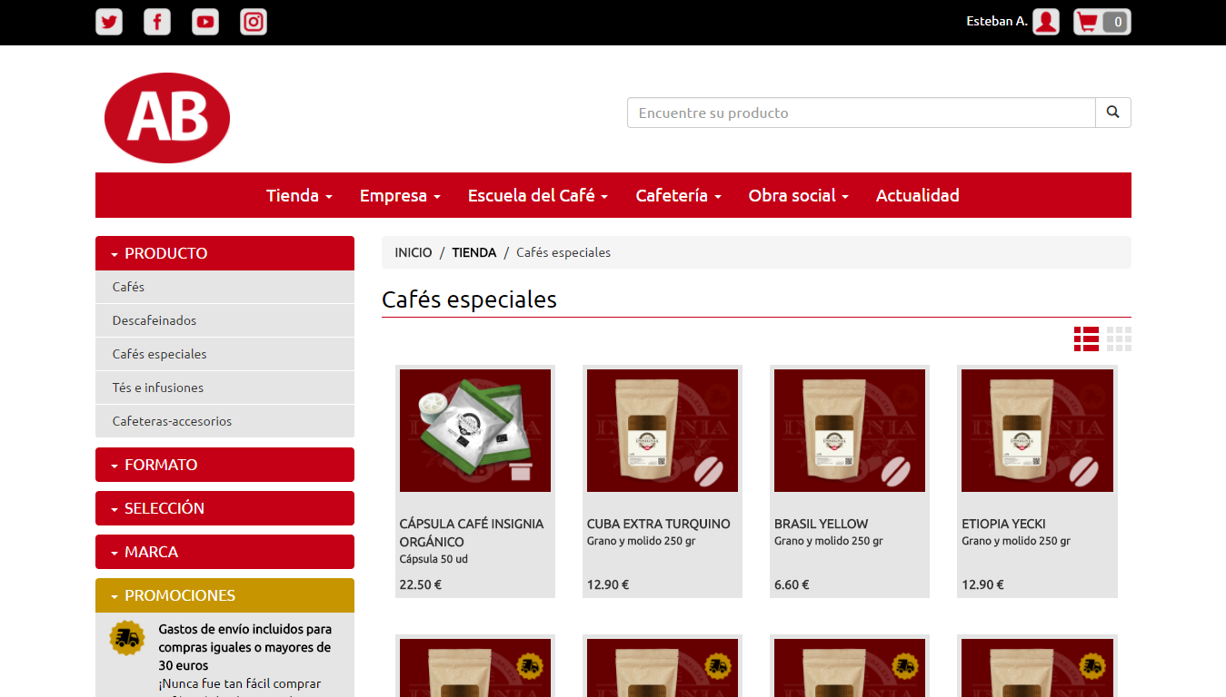 Cafe AB - INSIGNIA- screenshot