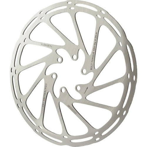 SRAM Centerline 1-Piece 180mm Disc Rotor w/ Rounded Edge