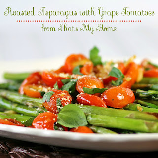 Roasted Asparagus with Grape Tomatoes