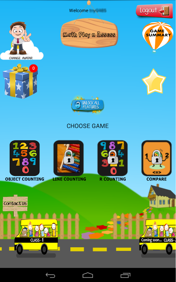 Math Play N Assess - Class 1- screenshot