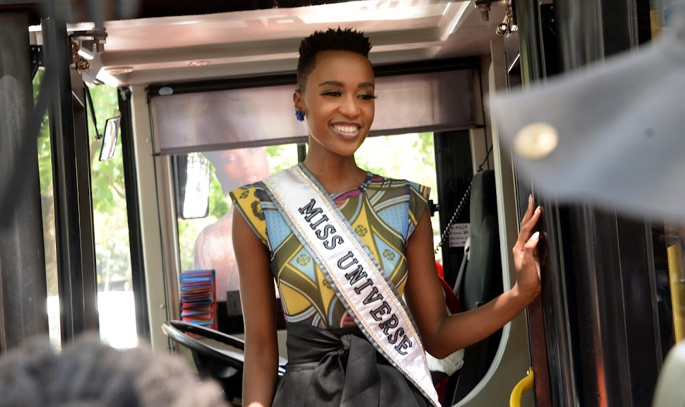 Zozi Tunzi's best and worst looks from her Miss Universe homecoming tour - TimesLIVE