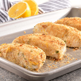 Cod with Lemon-Herb Crust
