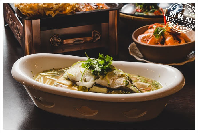 阿杜皇家泰式清蒸檸檬扁鱈魚