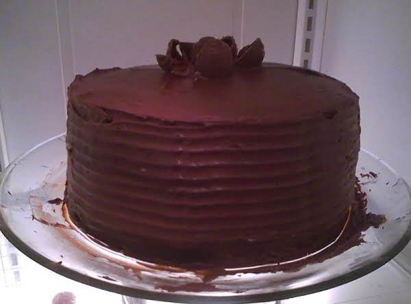 Simple Black Forest Type Of Cake