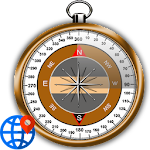 GPS Status Test & Route Finder Icon