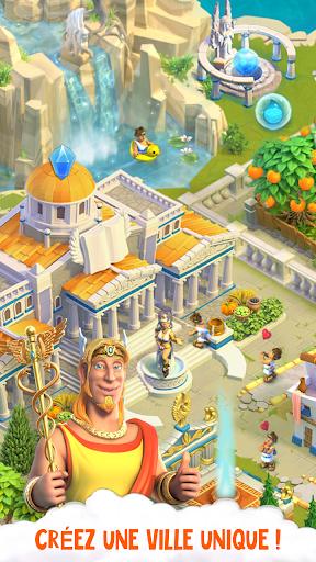Télécharger Divine Academy: jeu de ferme avec les dieux grecs APK MOD (Astuce) screenshots 1