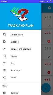 TrackPlan- Student Attendance - náhled