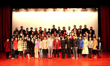 Photo: BRS teachers pose with Mr. Wang after completing the NLI sessions.