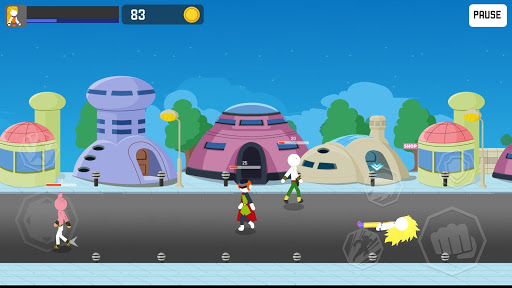 Stick Rage: Street Fight - screenshot