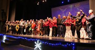Certamen navideño de coros en Adra.
