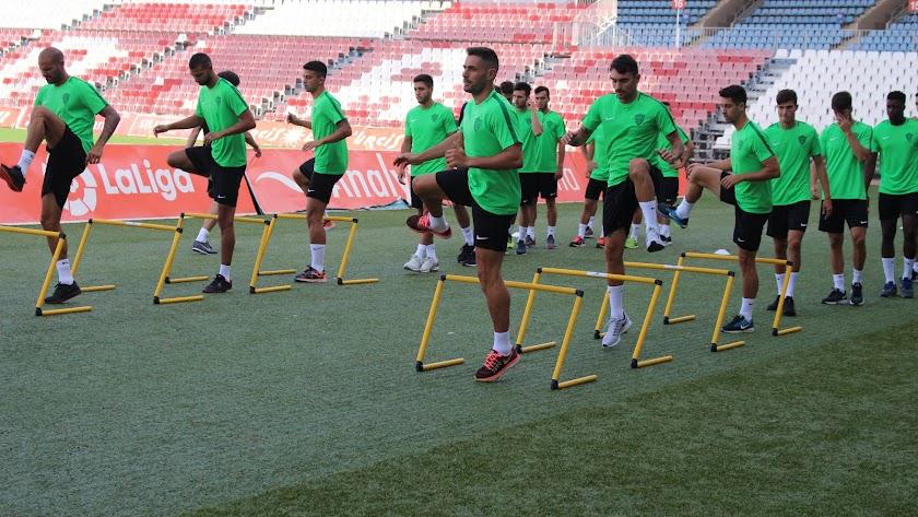 El Almería entrenará en la Universidad