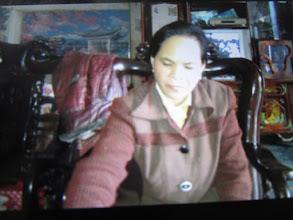 """Photo: """"Ms.Kim Thị Nhân 1. Số hiệu(ID member): 15021941 2. Tuổi(Age): 47 3. Địa chỉ(Address): Cụm 27 - Thôn Điền Lương - TT Hợp Hòa,Tam Duong District, Vinh Phuc province, Vietnam. 4. Thông tin gia đình(Household's information): Gia đình TV có 06 khẩu, 03 lao động chính. TV bán thịt lợn. Làm 04 sào ruộng, nuôi 20 đôi chim. Con TV làm công ty (Member has 06 people, 03 main labors. Member sells pork, cultivates on 04 poles of farmland, breeds 20 pairs of bird. Her child works for a company) 5. Ngày vay(Date of loan): 03-02-2015 6. Mức vay(Loan size): 9.000.000đ 7. Mục đích vay(Loan purpose): Chăn nuôi/livestock farming"""""""