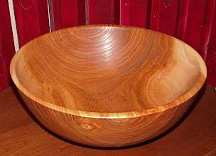 Photo: red elm salad bowl
