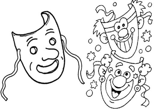 Resultado de imaxes para: dibujo carnaval