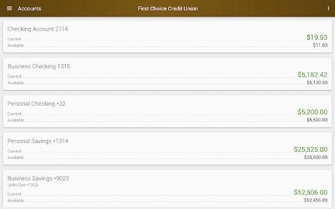 First Choice Credit Union screenshot 5