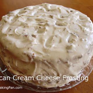 Pecan Cream Cheese Frosting.