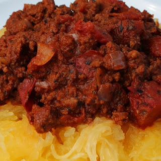 Paleo Spaghetti and Meat Sauce