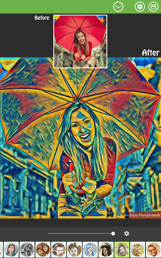 Screenshots of Photo Effects Pro for iPhone