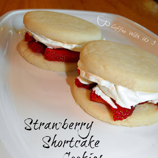 Quick Strawberry Shortcake Cookies Recipe