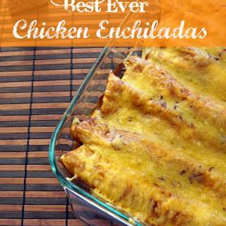 Best Ever Chicken Enchiladas.