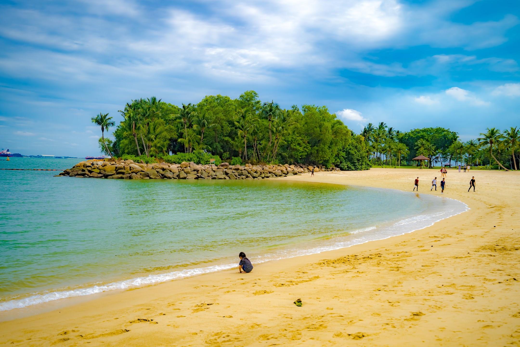Singapore Sentosa Palawan Beach