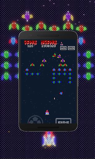 Galaxiga Retro:  Space Shooter screenshots 1