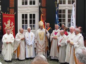 Photo: Glatzer Wallfahrt mit Vertriebenenbischof und GGV-Fahne