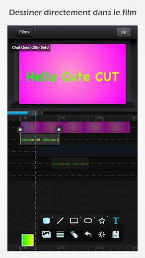 Cute CUT - Editeur de vidéo screenshot 2