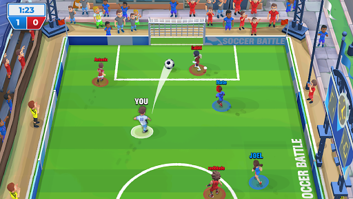 Soccer Battle - 3v3 PvP androidhappy screenshots 1