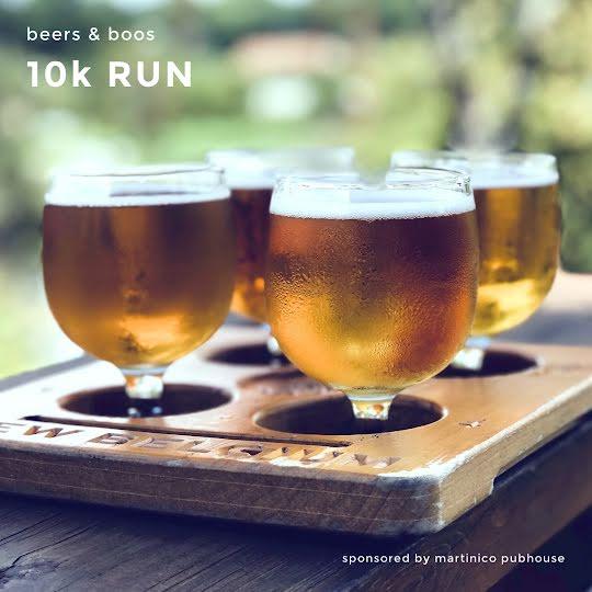 Pubhouse 10K Run - Halloween Template