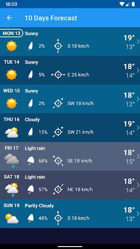 Weather Switzerland XL PRO 1.4.6.4-ch screenshots 6