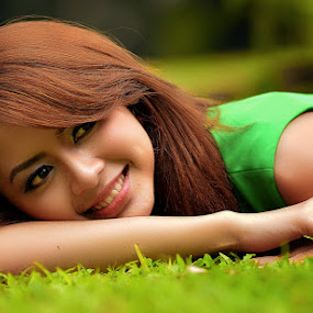 by Imal Prayitno - People Portraits of Women
